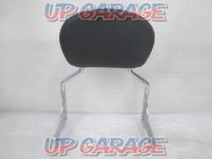 HARLEY DAVIDSON Detachable Passenger Backrest Pad Sea Light Upright Tooling ('97-'08) ※ suitable for vehicles equipped with docking hardware