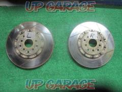 was price cut  Project μ Brake rotor Front (right and left SET) !!!