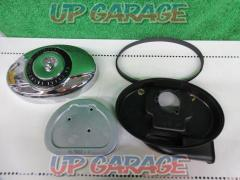 HarleyDavidson (Harley Davidson) Genuine air cleaner cover / air cleaner Breakout ('14) removed