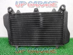 Remove GPZ 900 R (A 11) Genuine radiator Somewhat collapse fin