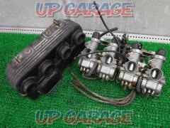 CB750Four (K3 removed) Genuine carburetor + air cleaner box set