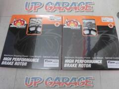 ACTIVE (active) MOTOMASTER (Moto Master) Flame stainless rotor Front left / right set 300Φ Inner Black