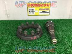 Nissan original (NISSAN) R200 Ring gear (Final 4.3) + Drive pinion
