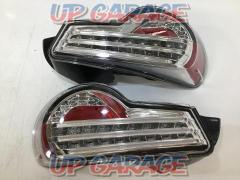 Unknown Manufacturer Tubech dual LED Toyota 86 tail lamp Plating type