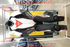 DAINESE (Dainese) LAGUNA SECA Four 1PS Punching leather suit Black / White / Red