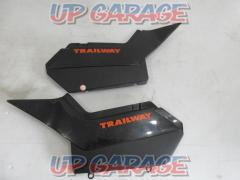 TW200 Genuine side cover left and right set