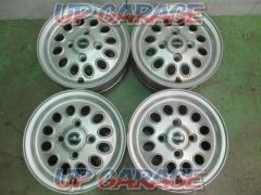 [Wheel only 4 sets] MINI Rover Mini genuine Alloy Wheels Silver