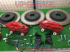 [Delivered Remove goods!] NISMO Fairlady Z Genuine caliper + Rotor Set before and after