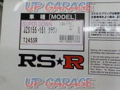 RS-R SUPER DOWN (super down) Part No./T245SR ※ rear only