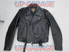 HARLEY-DAVIDSON (Harley Davidson) Leather jacket Double