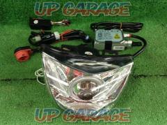 Address V125GBRIGHTZ CCFL lighting ring projector headlights