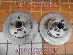 Unknown Manufacturer Hub integrated brake rotor Front