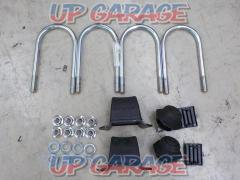 TOYOTA Hiace genuine U bolt + block + bump rubber