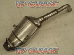 HONDA (Honda) PC40 CBR600RR genuine slip-on silencer Engraved: HM MFJ K2