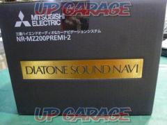MITSUBISHI NR - MZ 200 PREMI - 2  video · audio · high speed response ... all are the top level !! This is DIATONE !!