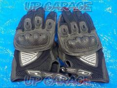ROUGH & ROAD (Rafuandorodo) Mesh glove Size: L black