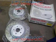 DXCEL Front drilled rotor IS-F