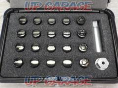 BBS Wheel security Racing nut kit