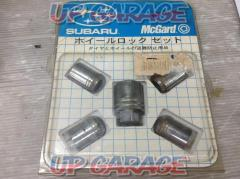 SUBARU genuine / McGARD (Mac guard) Lock nut set