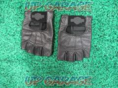 Harley-Davidson Leather thimble gloves black S size