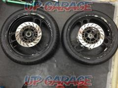 7 YAMAHA Genuine front and rear wheel set