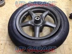 2Taiwan YAMAHA Genuine front tire wheel