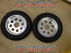 3 Unknown Manufacturer 10 inch tire wheel set