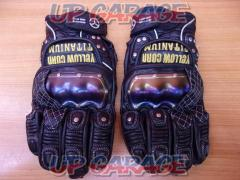Size: L YeLLOW CORN (yellow corn) Leather Gloves