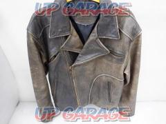 Wild Armor Double leather jacket L size