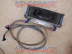 Made from EARL'S 9 inches 13-stage oil cooler Side handling straight XJR 400 / R ('93 -' 07)