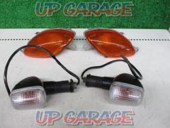 SUZUKI (Suzuki) Genuine blinker Set before and after Remove GSX1300R 隼 ('01)