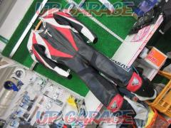 KUSHITANI (Kushitani) Punching leather racing suit LL / XL size