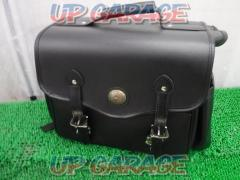 Unknown Manufacturer Side bag Leather black One side only