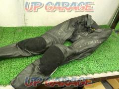 RSTaichi GMX bent leather pants