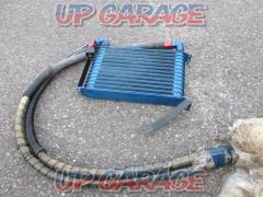 13-stage oil cooler