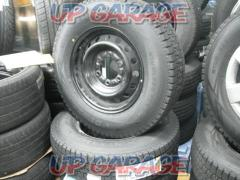 8 manufacturer unknown Steel foil + DUNLOP (Dunlop) WINTER MAXX With SV01 new studless tire