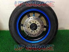 1HONDA Live DIO-ZX genuine front tire wheel