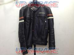 HARLEY-DAVIDSON Leather single jacket