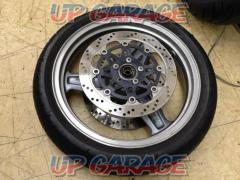 9 KAWASAKI Genuine front wheel