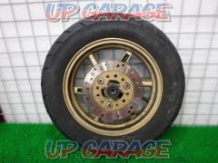 HONDA Genuine front tire wheel