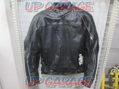 GOOD LUCK Punching leather jacket Size L