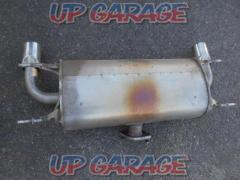 Mazda NC Roadster late genuine muffler