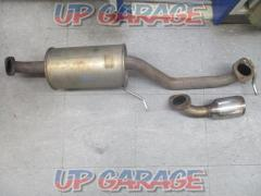 SUZUKI SPORTS TYPE SP-X Street muffler