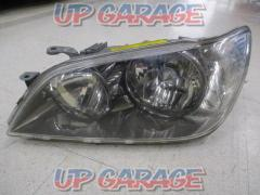 Toyota original (TOYOTA) Altezza / GXE10 Late genuine headlight Passenger side