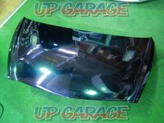 Unknown Manufacturer FRP bonnet black Honda (HONDA) Fit / GD system