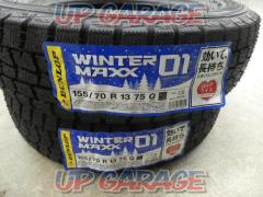※2本セット※DUNLOP WINTERMAXX WM01 155/70-13(S11024)