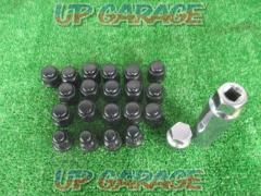 Unknown Manufacturer Black nut + Lock nut set