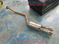 NISSAN (Nissan) Elgrand Genuine option muffler made by barnacles