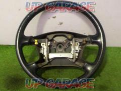 Chaser / JZX100 TOYOTA Genuine leather steering wheel