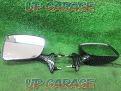 Unknown Manufacturer Carbon style? Cowl mirror TZR250 (1KT 2XT 3 MA)